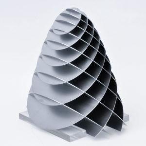 elliptisches Paraboloid aus zwei scharen paralleler kreischnitte